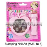 nail printer DIY flower Nail nail art stmaping set