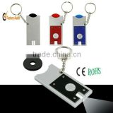 keychain product with coin holder