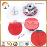 Fashion Painted zinc alloy shank metal jeans button for jeans                                                                         Quality Choice