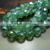 fashion crystal beads,2015 new design glass bread beads,button beads