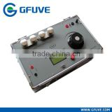 High voltage primary current injection test set