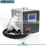 Varicose Veins Treatment High Power ND YAG Laser Tattoo Removal Machine With Three Heads Laser Removal Tattoo Machine