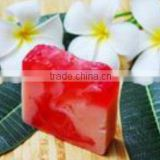 Handmade Soap: Natural Flower Plumeria Handmade Soap