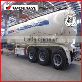 Tri-axle V shaped Bulk Cement Carrier Tank Semi Trailer to carry powder or flyash