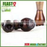 Hot New Products for 2016 glass essential oil bottle with bamboo or wooden lid