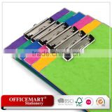 a4 size pp/pvc/paper / customized clipboard/clip binder/file folder