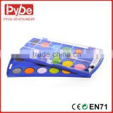 Water color paint in plastic folding Box assorted colors                                                                         Quality Choice