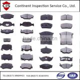 car/truck break pad plate,inspection services,preshipment inspection,factory inspection,inline check,container loading check