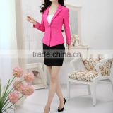 ladies office uniform design bespoke uniform jacket and skirt for office lady with high quality