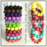 fashion silicone jewelry silicone bracelet teether mom style