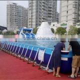 2014 hot sale above ground steel frame pool