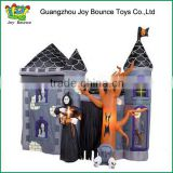 Good Quality Halloween Inflatable Ghost Jumping Castle House for Children Game