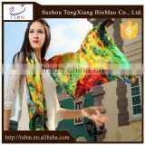 Wholesale Beauty Spring Autumn 12mm TWILL long Silk Scarf/ Silk Scarves / kerchief /headband/hijab