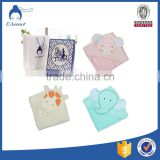 custom cotton terry fabric sheep animal wholesale hooded bath towels for baby