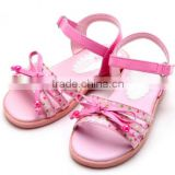 2015 new style little girl sandal shoes very beautiful baby shoes comfortable soft little girl shoes