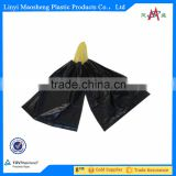 black transparent Plastic drawstring PE trash/garbage bags on roll of high quality with factory price                                                                         Quality Choice