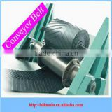 ISO/DIN standard C5/C15/C25 chevron conveyor belt used for carrying wet, loose sand and grain materials in bugs