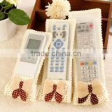 New design butterfly knot remote control units air conditioning remote control TV dust cover