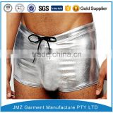 custom men sexy mesh thong underwear with men penis picture