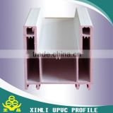 UPVC profile awning window/wood color PVC window/pvc top hung window