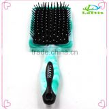 Plastic Flexible hair brush Beautiful Star Electric Hair Straightener Comb Brush                                                                                                         Supplier's Choice