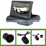 wholesale 4.3inch folding monitor rear camera system in hot selling