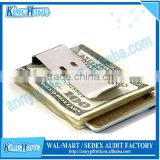 Stainless steel blank spring money clip