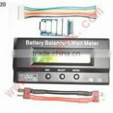 RC Battery 2S - 6S Battery Balancer & Watt Meter