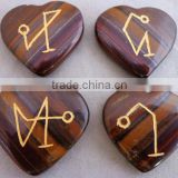 Tiger Eye Arch Angel Set From PRIME AGATE EXPORTS KHAMBHAT : INDIA