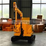2015 kids electric teaching mechanical digger TY-7 toys excavator