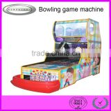 hot sale commercial kids coin operated arcade bowling simulator machine