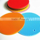 FDA food grade high temperate round 18cm wholesale heat resistant silicone pad