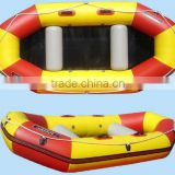 0.9 mm PVC inflatable raft commercial awning boat