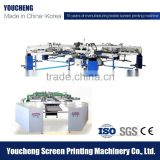 Screen printing Manufacturer of Automatic Rotary Silk Screen Printing Machine for Tshirt