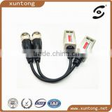 CCTV BNC Twisted Transceiver Video Balun to UTP Passive Transceive CAT5 Cable for camera DVR