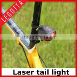 2016 hot sale led laser tail light bike light led tail light/Mini and waterproof bicycle side car led lighting made in China