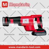 Cordless reciprocating saw 14.4V/18V toolless blade change