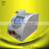 Professional ND-YAG Laser Tattoo Machines With 1 HZ Two Treatment Heads Pigmented Lesions Treatment