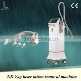 Professional new design Nd yag tattoo removal laser equipment with 1064nm,532nm tips and skin rejuvenation treating head