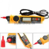 HYELEC MS8211 Pen-type Digital Multimeter with NCV Detector Non-contact DC/AC Voltage Current Auto and Manual Ranging Data Hold