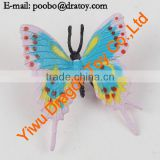 Insect figurines plastic butterfly figurine