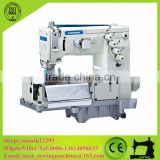 Double Needle Flat-bed Making Belt Loop Sewing Machine with Front Fabric Butter(the Width of Belt Loop)CS-2001C