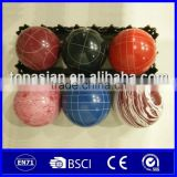 Professional polyresin boules petanque bocce game set for outdoor