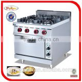 Stainless Steel Gas ranges with Electric Oven(GH-987B)
