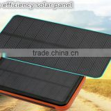 New 30000mah Waterproof solar power bank bateria externa solar charger powerbank for all mobile phone for pad