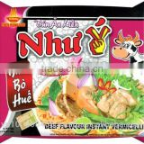 Beef Instant Rice Vermicelli 60g from VietNam