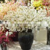 china wholesale silk flower artificial real touch cherry blossom good quality for decoration