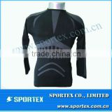 Men's skin seamless top / Good shape compression top seamlessed / compression wear