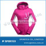 2015 Womens Cotton Ski Jacket, Waterproof Outwear Snowboard Windproof Outdoor Coat#YR-93