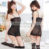 2014 the new Lingerie spandex clamps shape of corsets + spandex leg warmers new pajama perspective free shipping